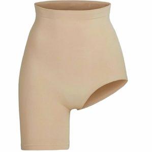 Skims Solution Short Shapewear Left Leg Slit | Tan